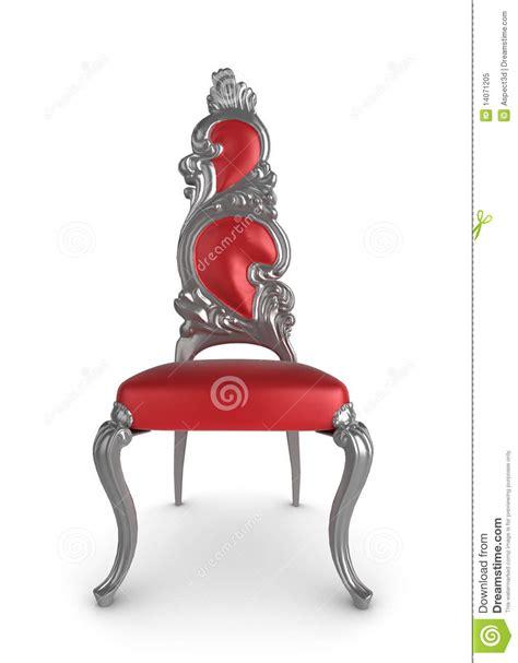 roter stuhl roter antiker stuhl lizenzfreies stockfoto bild 14071205