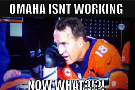 Peyton Manning Meme Superbowl - a game to remember dominoes
