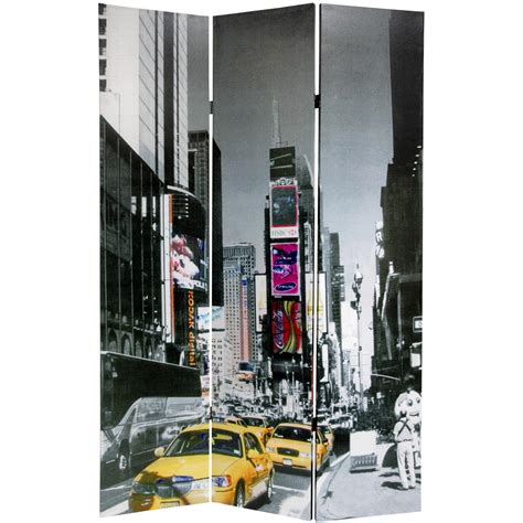 room divider new york 6 ft new york city taxi room divider roomdividers