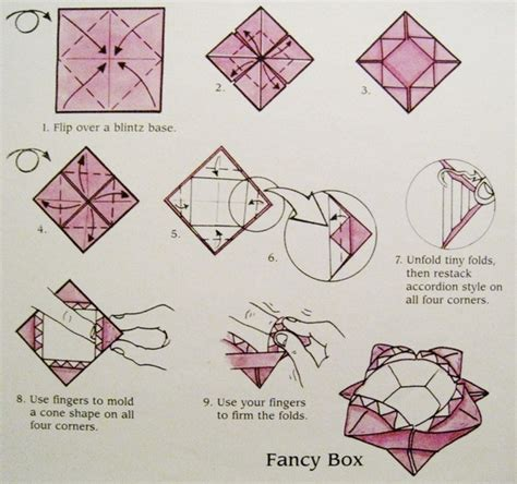 Origami Fancy Box - origami origami central