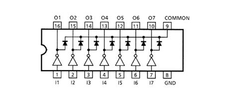 transistor array led driver part finder friday darlington transistor arrays 171 adafruit industries makers hackers