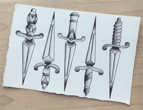 102 great traditional dagger tattoo ideas amp designs