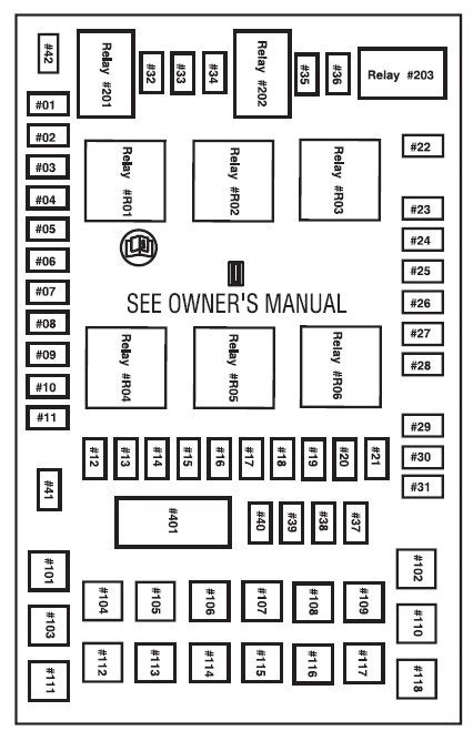 2004 Ford F150 Heritage Fuse Diagram