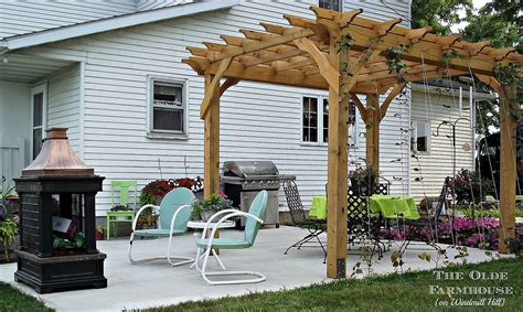 hometalk build your own pergola for an outdoor retreat
