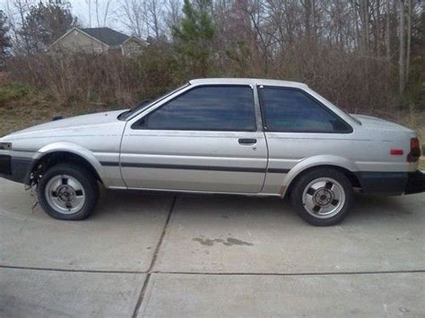 1987 Toyota Corolla Ae86 Find Used 1987 Toyota Corolla Ae86 Rwd Sr5 Coupe Shell In