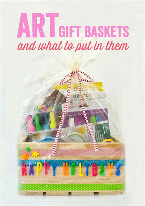 best arts and crafts gifts for the best supplies for and diy gift baskets