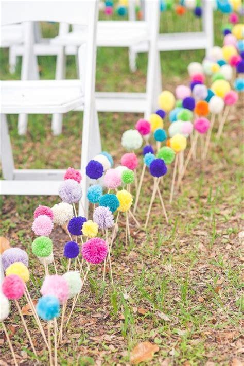 diy garden wedding ideas 50 best garden wedding aisle decorations pink lover