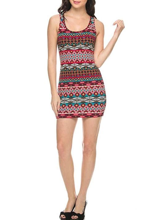 Dress Triball 2 ambiance apparel tribal bodycon dress from vermont by
