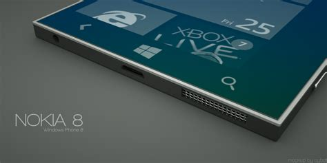 Hp Nokia Android Windows 8 nokia 8 mockup 6 concept phones