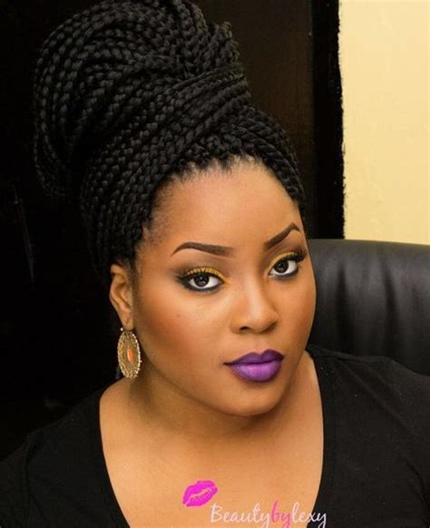 box braid bun styles select a fashion style before you undo your braids here