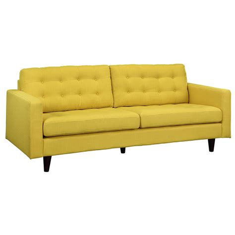yellow couches modern sofas enfield yellow sofa eurway furniture