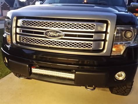 led light bar grill f150 grill with light bar f150 autos post