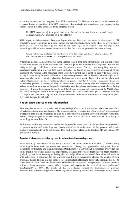 layout of a qualitative research report an exle of a qualitative research design