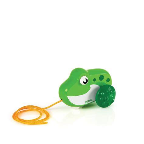 brio pull along brio pull along frog toys zavvi com