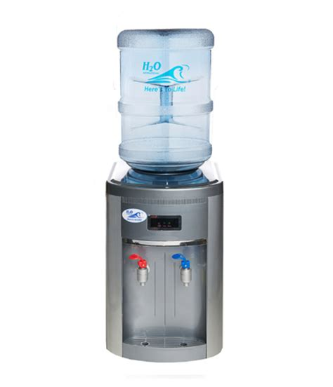 Water Cooler Countertop by Esb5ch Economy Countertop Bottle Type And Cold Water Cooler With Silver Finish H2o