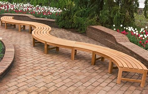 curved bench seating indoor garden ideas categories patio garden ideas patio garden
