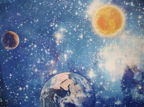 jual wallpaper dinding anak motif galaxy  lapak unique