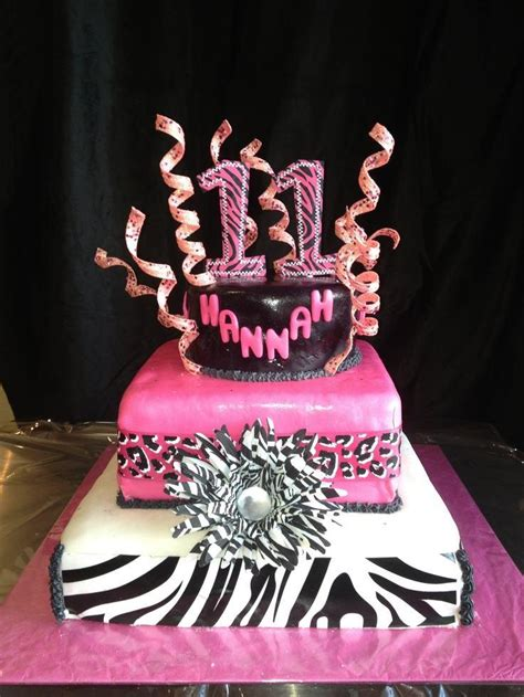 themes for a girl s 11th birthday party 11th birthday cakes for girls a birthday cake