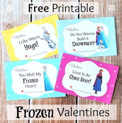 printable frozen valentines printable kids valentines disney video search engine at