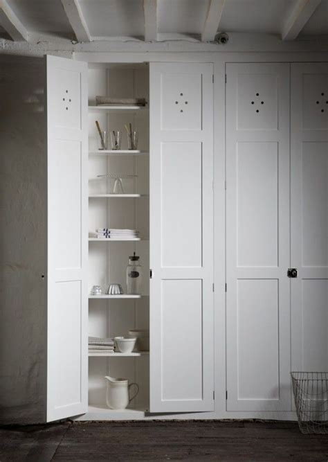 Cupboard With Doors - this resembles the bedroom wall closet or pantry in the