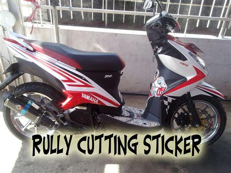 Cuttting Sticker Stiker Msd xeon cutting sticker rully cutting sticker r c s