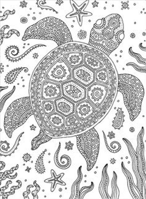marvelous sea turtles coloring book for adults stress relief coloring book for grown ups books kpm doodles coloring page sea turtle sea turtles turtle