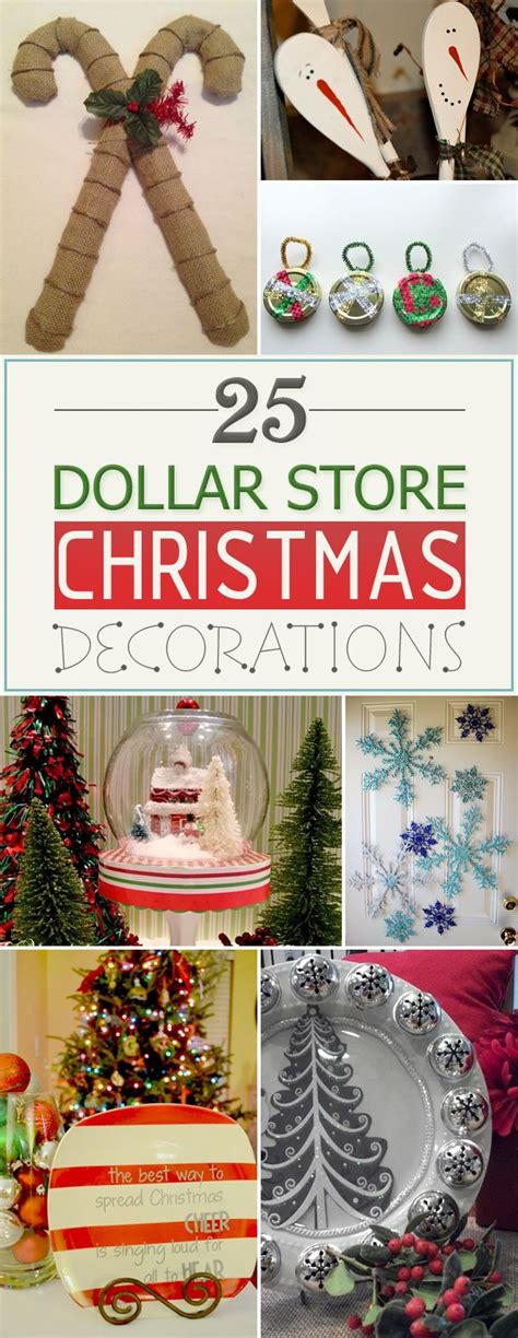 christmas decoration inspiration diy xmas gift ideas shopping cool presents tree winter holiday 25 amazing diy dollar store christmas decorations