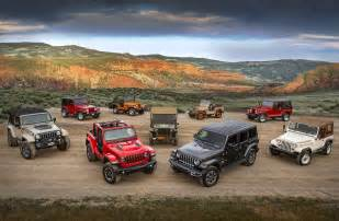 jeep wrangler lineup 2018 jeep wrangler jl everything you need to know from