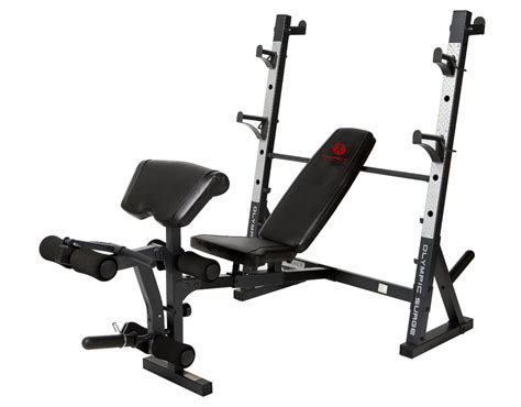 marcy elite olympic bench review