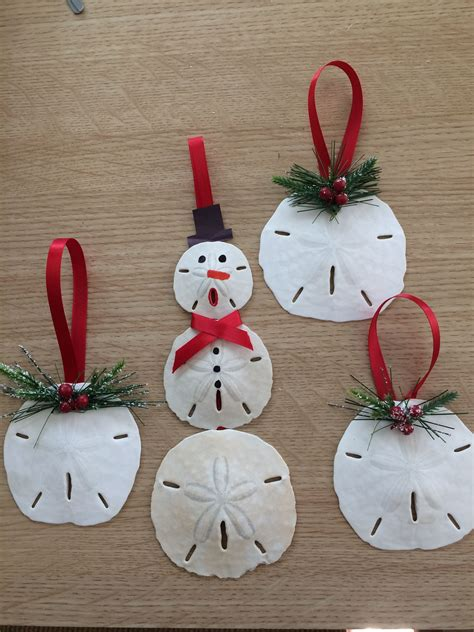 christmas ornament craft ideas sand dollar ornaments sand dollar ornaments ornaments and
