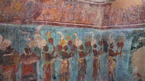 imagenes de murales mayas descubriendo las ruinas mayas bonak