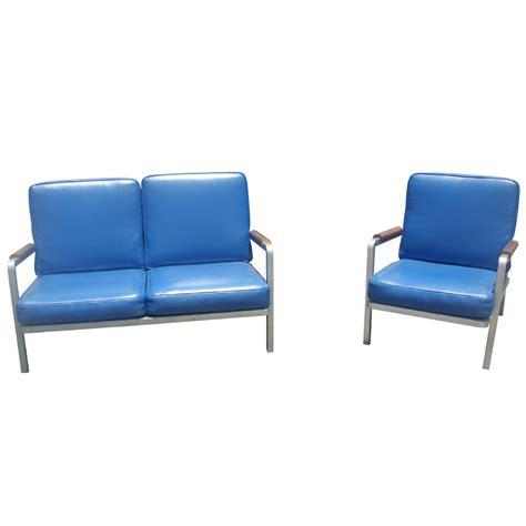Aluminum Lounge Chair by 1 Vintage Aluminum Lounge Arm Chair Ebay