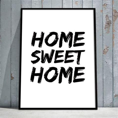Plakat Po Angielsku by Plakat Z Angielskim Przysłowiem Home Sweet Home