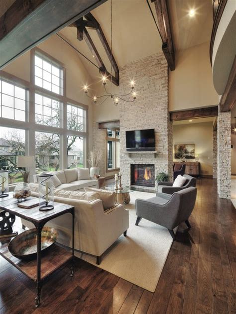 Living Room And Family Room Ideas - best 30 rustic living room ideas remodeling photos houzz