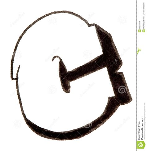 lettere c letter c alphabet in graffiti style stock photo image