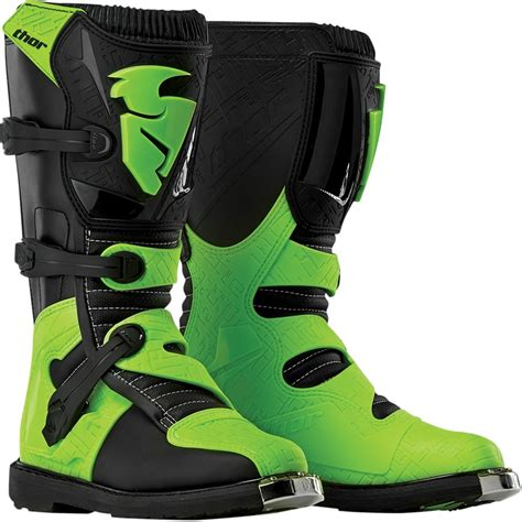 green motocross boots thor 2015 blitz mx boots flo green wide selection of thor