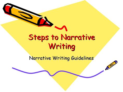 Steps To Writing A Descriptive Essay by Narrative Writing 2