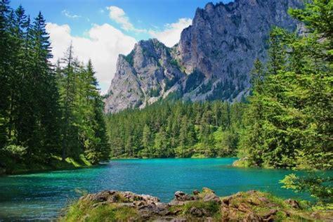 urlaub alpen österreich der gr 252 ne see traumsee mitten in 214 sterreich