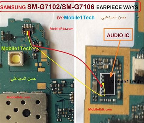Gambar Samsung J7 2016 J710 samsung sm g7102 ear speaker ways earpiece jumper solution