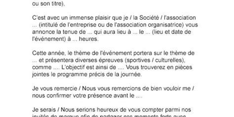 Lettre De L Entreprise Culturelle invitation 233 v 232 nement entreprise pz92 jornalagora