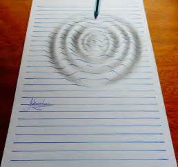 3d drawing online 15 year old artist creates remarkable lined paper 3d