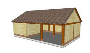 Carport Plans With Storage carport with storage shed plans woodplans