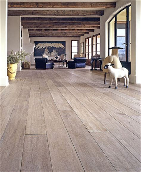 wide open spaces bleached oak floor - Bleached Oak Floors