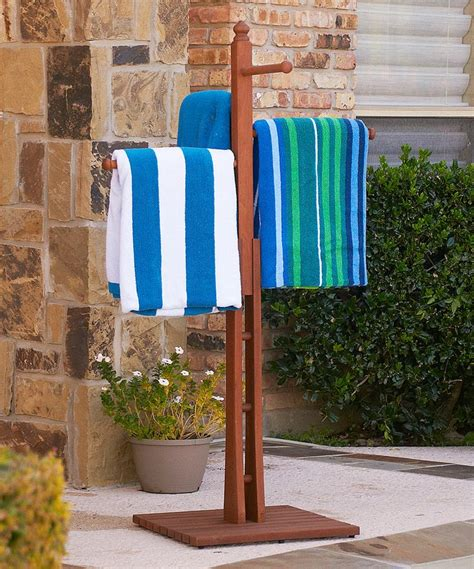 Outside Towel Rack by 17 Best Ideas About Outdoor Towel Racks On Pvc
