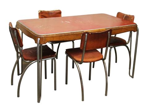 vintage dining room table vintage dining room table four chairs olde good things