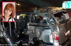 k pop singer dies in car accident asiaone showbiz news
