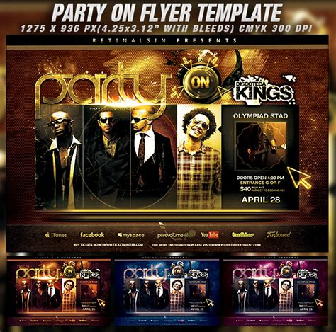 flyer photoshop templates 30 free psd flyer templates