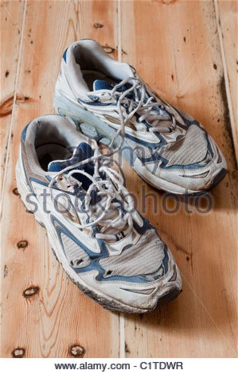 when are running shoes worn out trainers worn out shoes stock photo royalty free