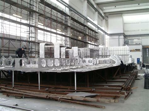 yacht work works on rossinavi hull fr031 yacht yacht charter