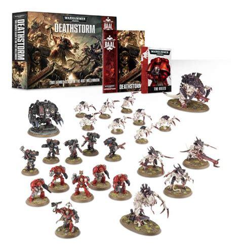 shield of baal deathstorm set coming from games workshop